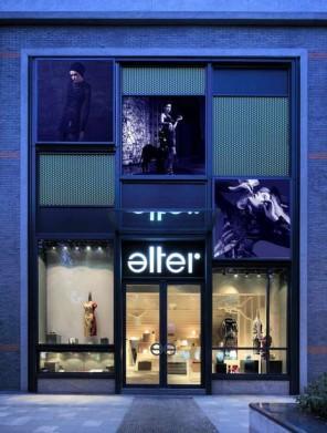 The unique interior alter fashion boutique