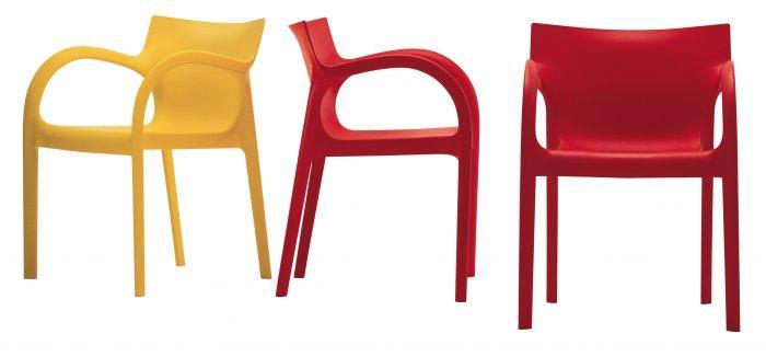 Poppy Star chair by Carlo Bartoli