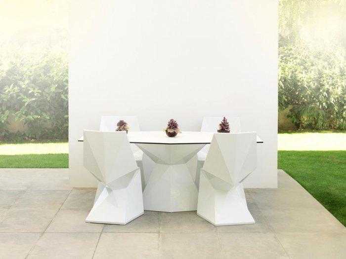Chairs and Tables by Karim Rashid