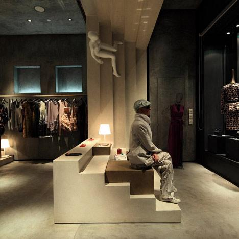 The alter fashion boutique – a contemporary view.