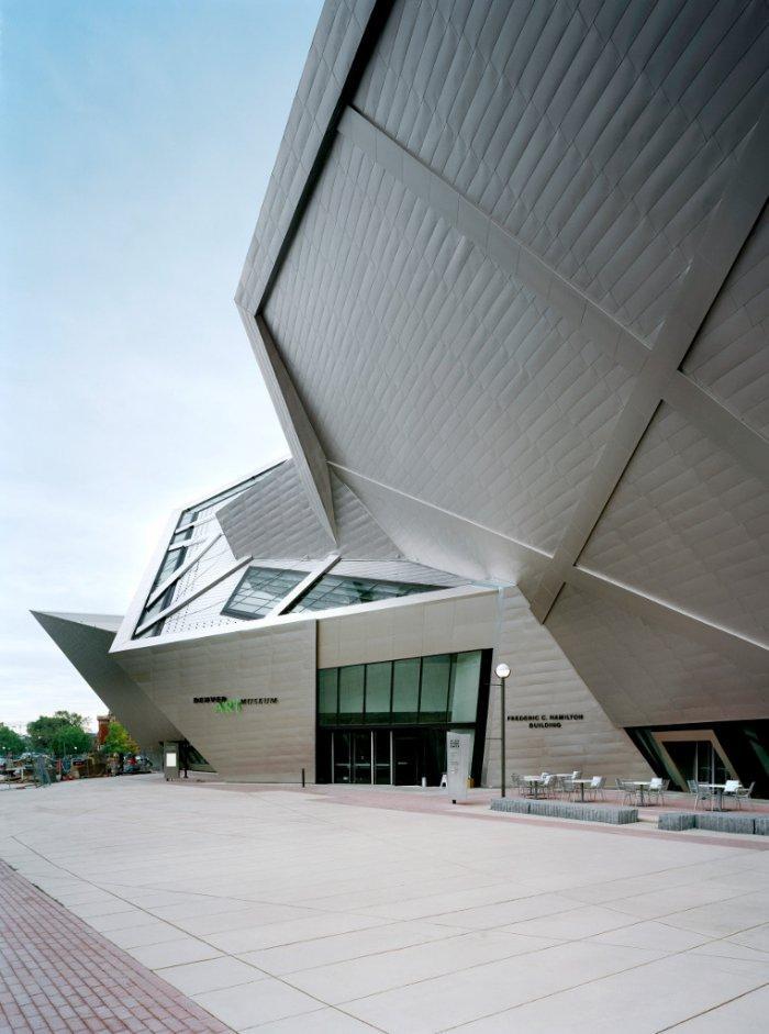 Modern Architecture Design The Amazing Art Museum Founterior