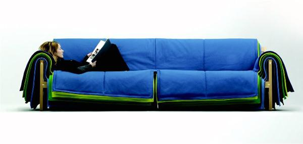 Flio Sofa for Cappellini – another view.