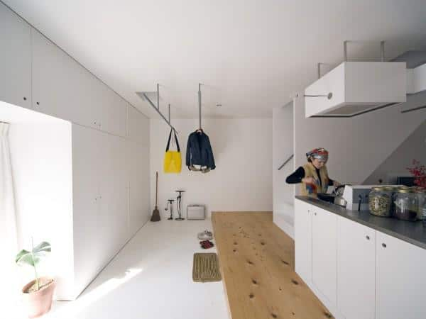 Well designed kitchen in a house in Kyoto