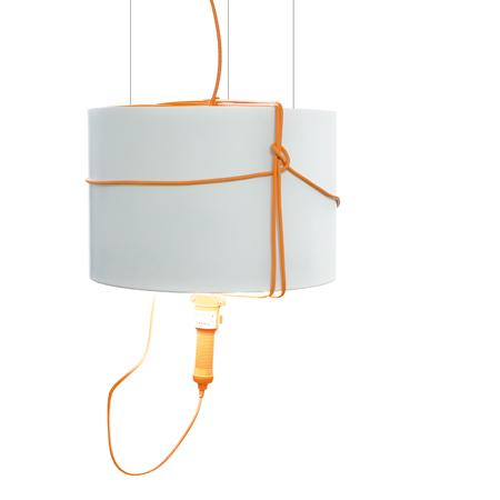 Cau Sospensione is a classical lamp interpretation, suggested by Marti Guixe