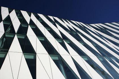 Saxo's office has an unique architecture.