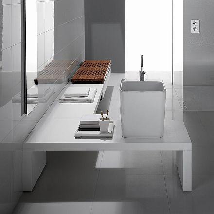 Modern bathroom design projected by G-Full