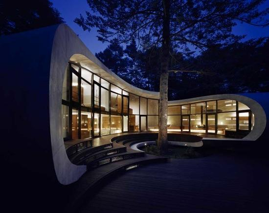 The breath-taking modern look of the house