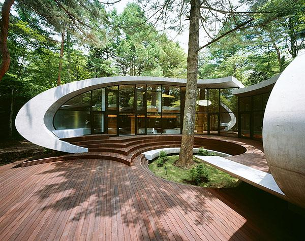 An unique and stylish modern design from the outside