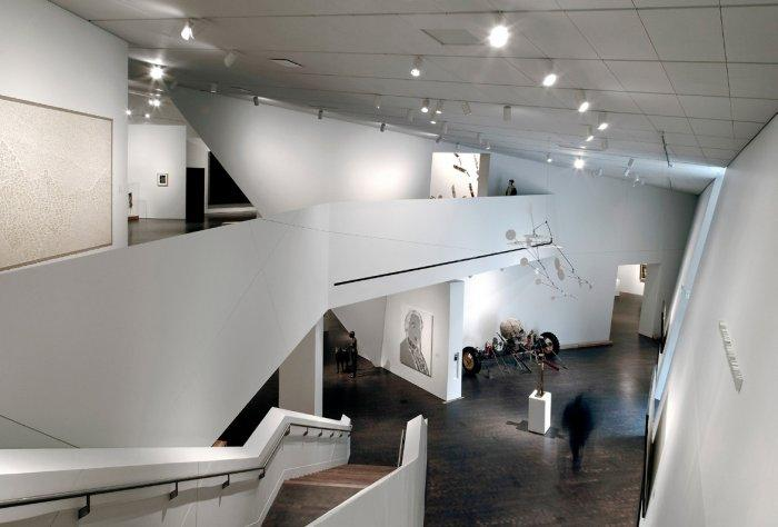 Inner view of the museum in Denver