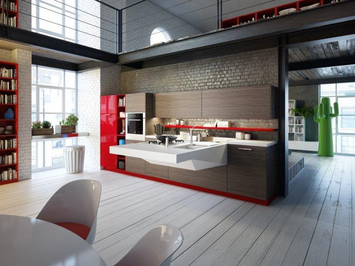 Modern Kitchen Interior Design | Founterior