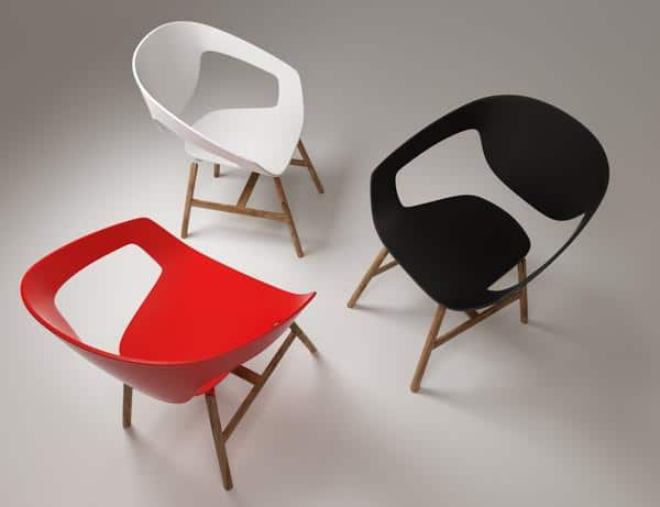 Very well designed chairs by Casamania. The perfect office furniture