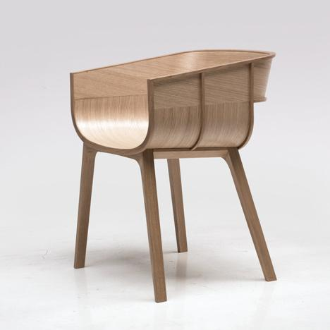 Wooden chair, designed by casamania