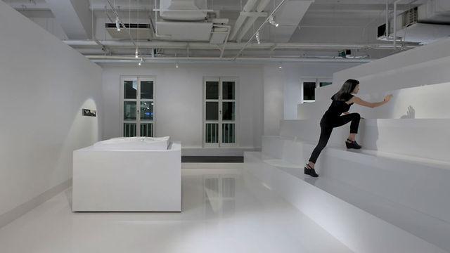 A Room In The Modern Office Of Leo Burnett