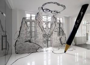 Amazing interior design decoration for Leo Burnett's office