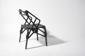 Furniture design in scandinavian style