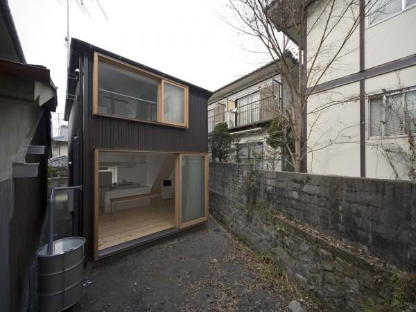 Small House Interior Design In Kyoto Japan Founterior - Architecture-design-in-kyoto-japan