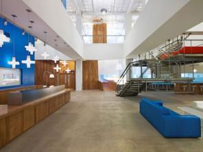 The modern office design of Jwt Agency