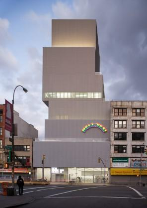 Architectural project for the museum of contemporary art in New York.