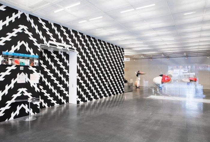The interior design of the museum.