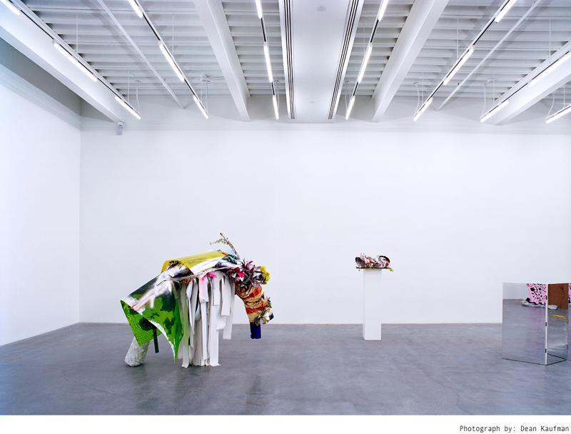 Contemporary sculptures and instalations.
