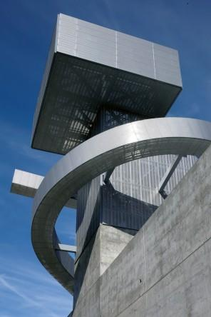 The school in Los Angeles has a gorgeous architecture design.