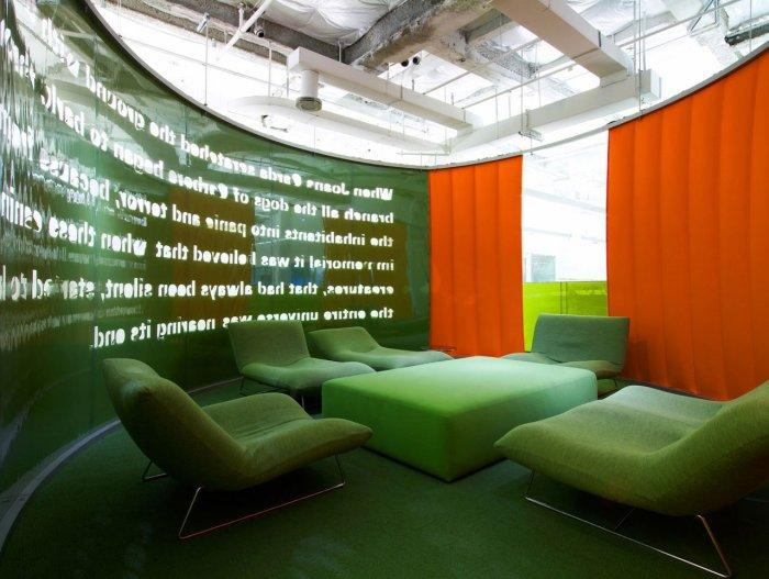 Office design the modern interior of jwt agency founterior for Interior agency