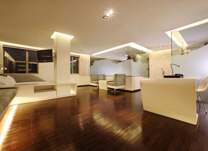 One of the boutique apartments in the hotel.