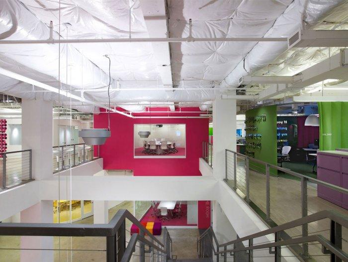The office design of JWT agency is fabulous.