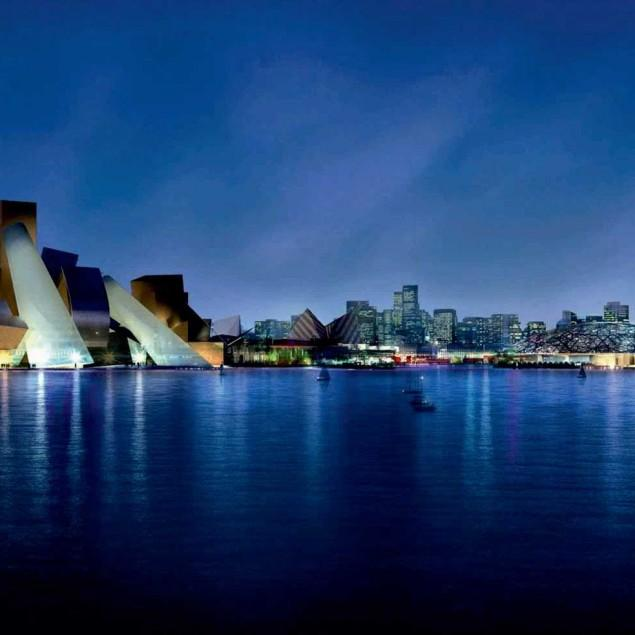 Modern architecture – the abu dhabi museum.