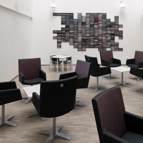 This design can be used for commercial goals. Like using the furniture in cafeteria.
