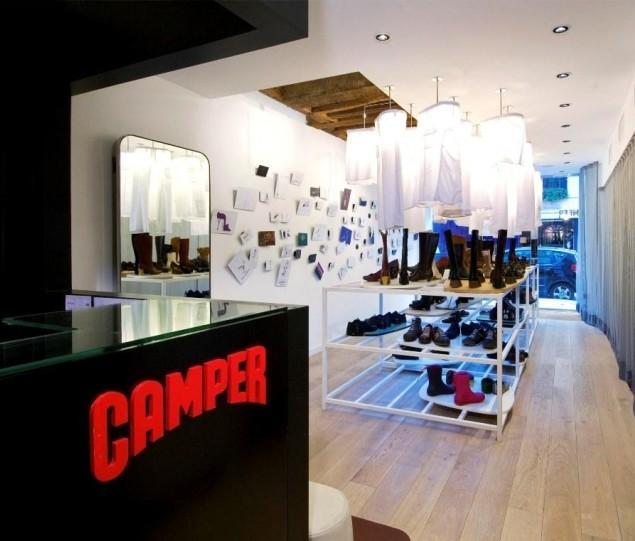 Camper Store Design in Paris