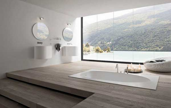 Big windows strengthen the sense for spaciousness