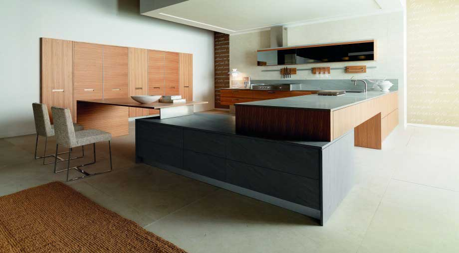 What a fantastic contemporary design of a kitchen.