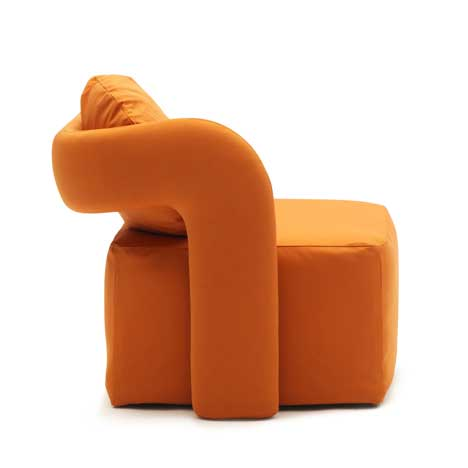 Creative and comfortable armchair