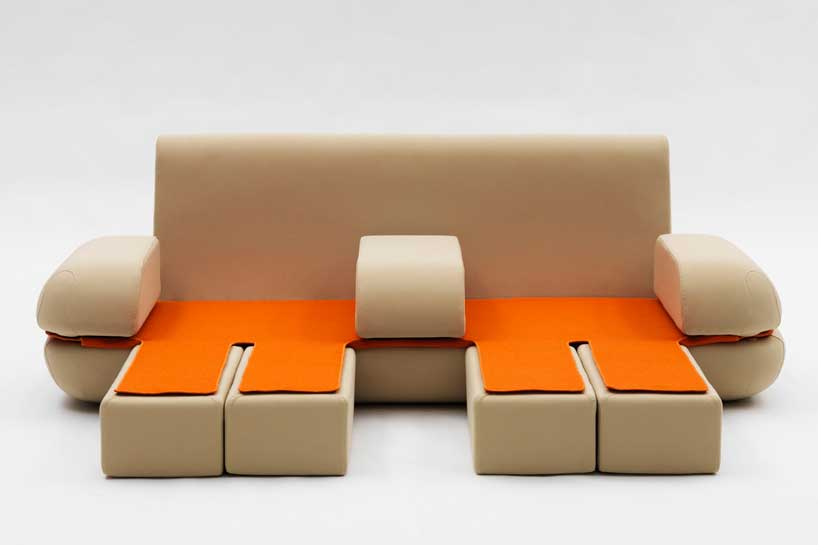 Creative home furniture ideas by campeggi founterior for Ausziehbare couch