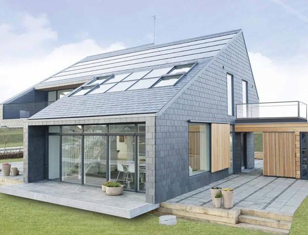 A power saving house in Aarhus, Denmark