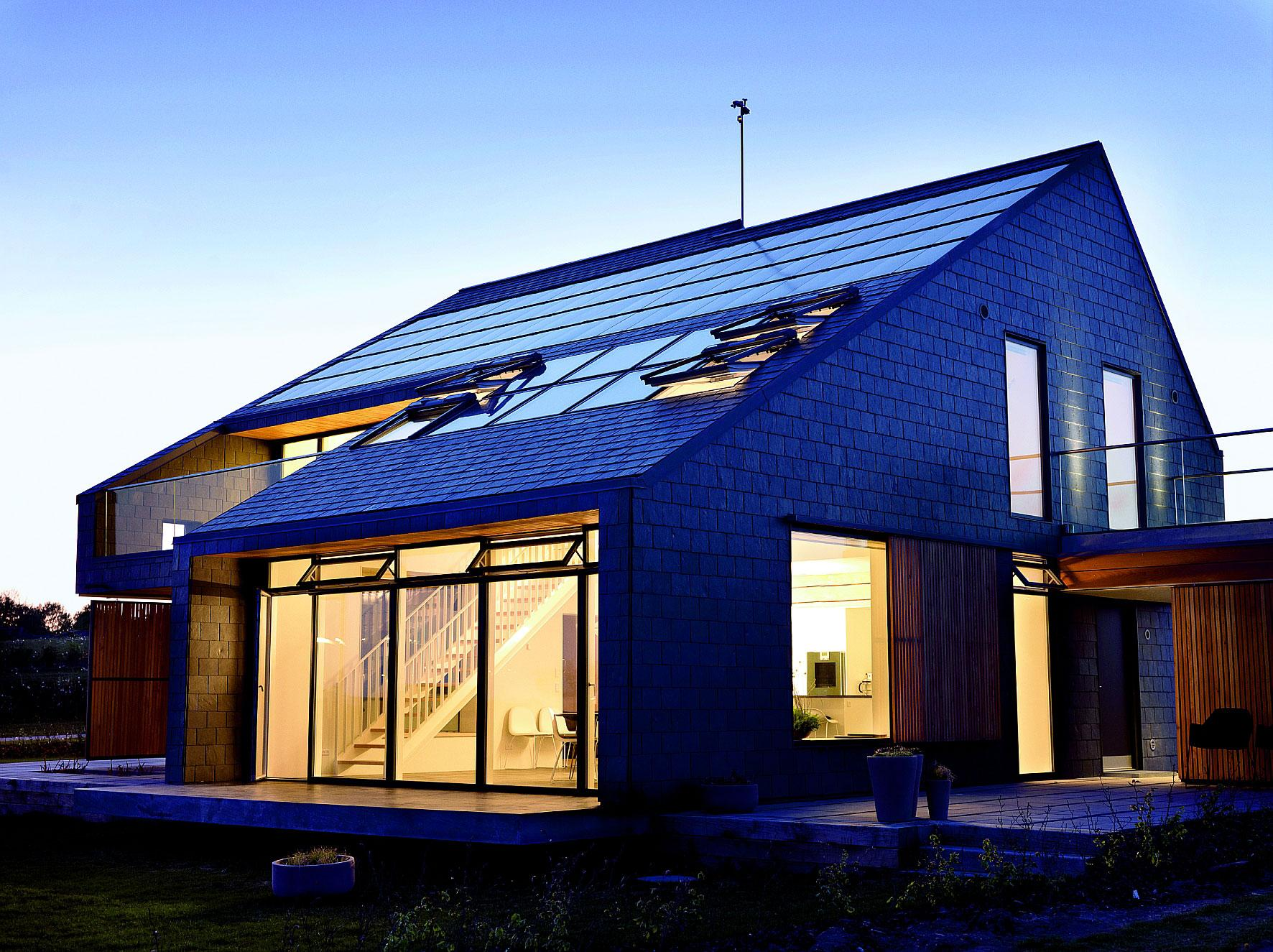 Energy efficient home a house in aarhus denmark for Building the most energy efficient home