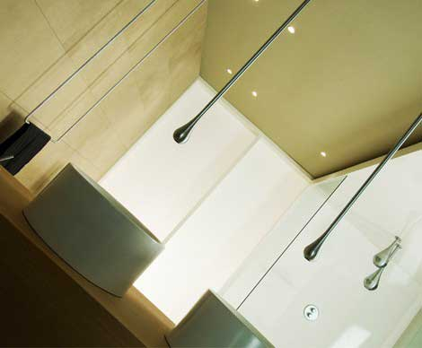 Stylish faucet by Gessi