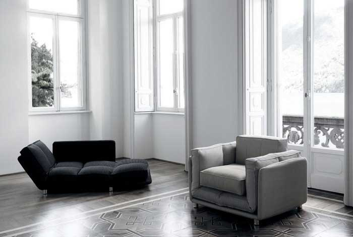 When you want to have a modern place you should think about buying a proper sofa or armchair.
