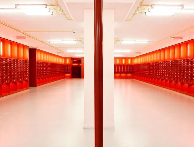 The interior design of the university of Amsterdam