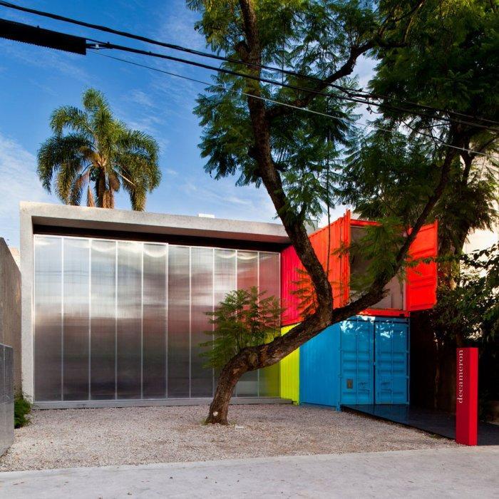 Cogan presents his cool architecture.