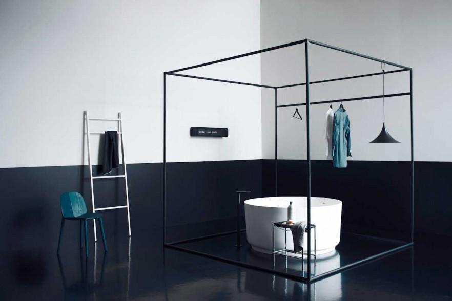 Minimalist bathroom design ideas the simplicity founterior for Small bathroom design minimalist