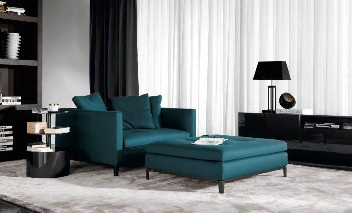The amrchair design makes it a really comfortable piece of furniture.