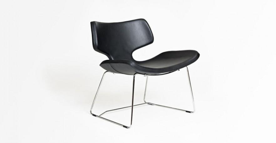 Chairs can be designed in such a modern design.