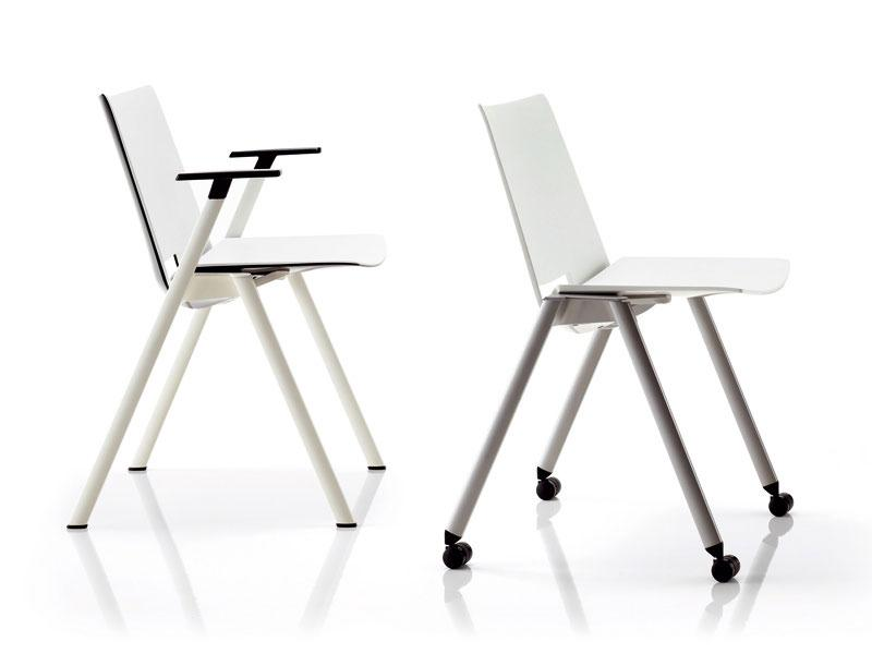 The design of the chairs matches every modern interior.