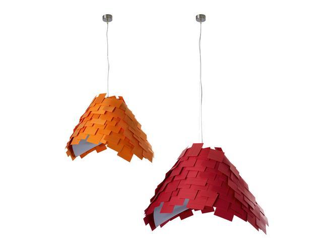 Fantastic colorful chandelier.
