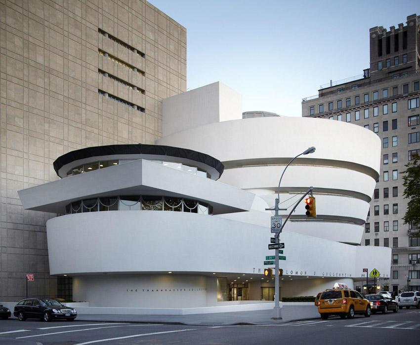 Modern Architecture New York modern architecture - the guggenheim museum in new york | founterior