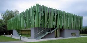 This unusual kindergarted has been designed by interior design studio Kadawittfeldarchitektur