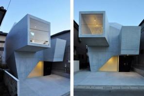 The ultra modern house in Abiko, Japan