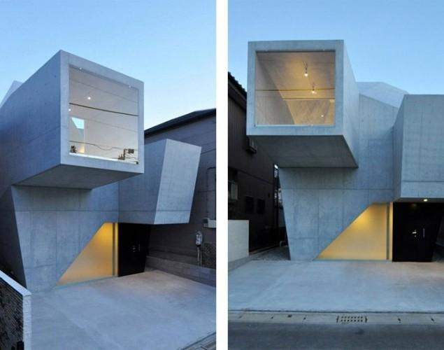 The ultra modern house in Abiko, Japan